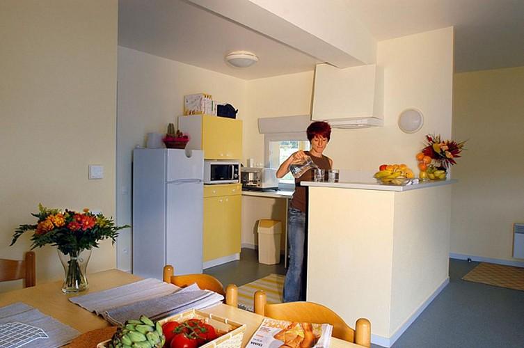 871506 - 4/6 personas - 2 habitaciones - 3 espigas - Magnac Laval