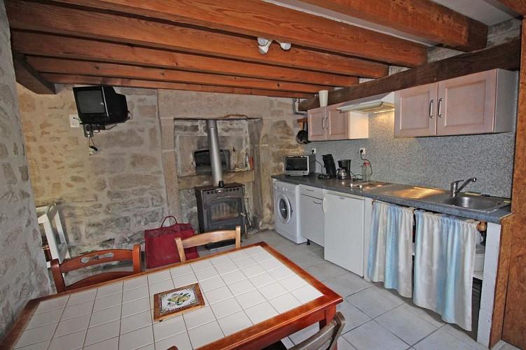 875303 - 3 people - 1 bedroom  - 3 'épis' (ears of corn) - Peyrat le Château -