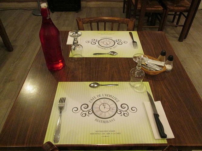 Le Café de l'Horloge