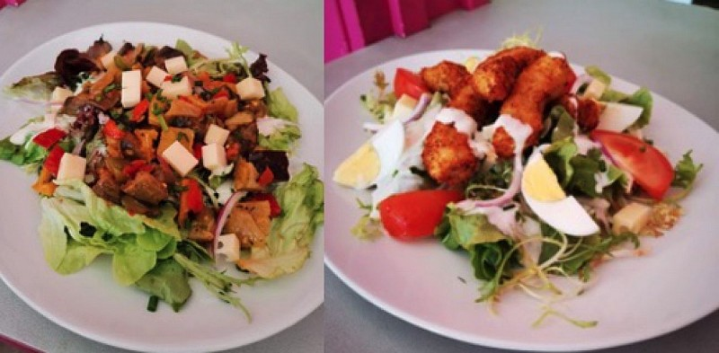 La Paillotte fast restaurant