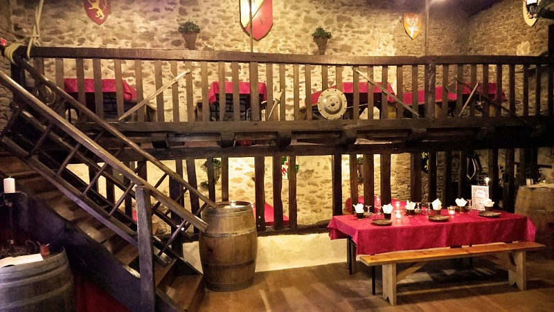 Restaurant Auberge  médiévale Vallicella