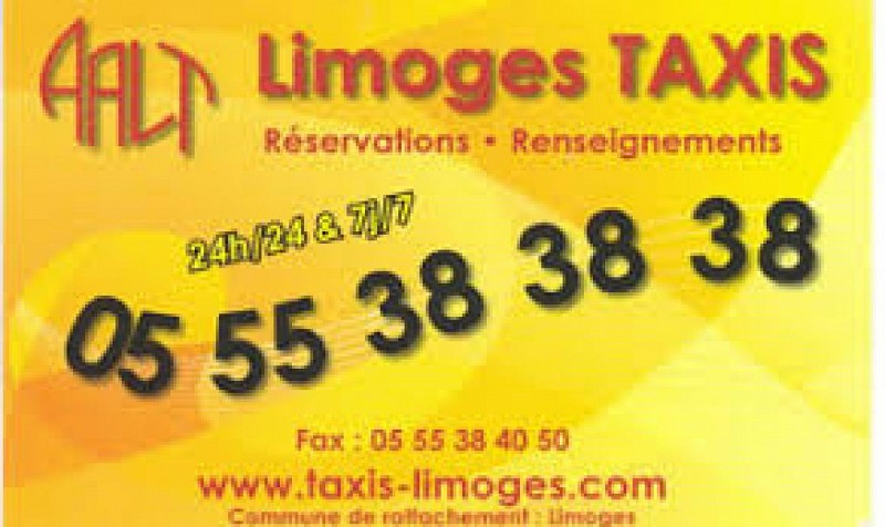 Allo Artisans Taxis Limoges AATL