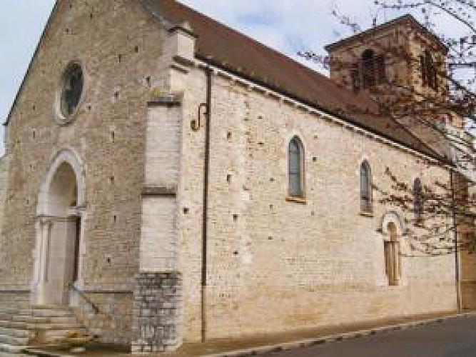 L'église de Sandrans