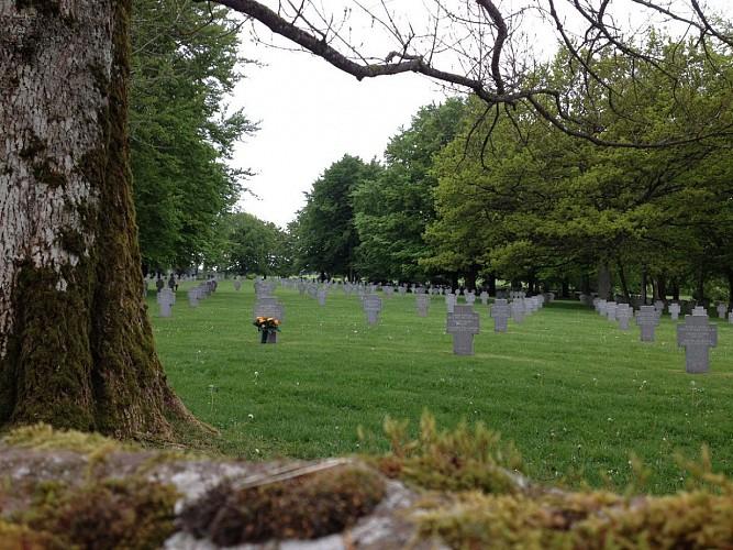 Duitse militaire begraafplaats van Recogne