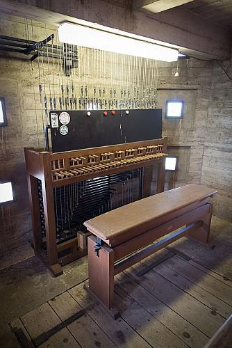 Le Carillon du Mas Rillier et son campanile, un accord parfait