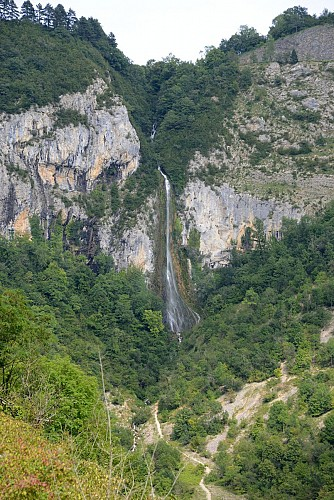 Waterfall of la Culaz