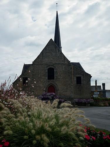 Eglise et son calvaire