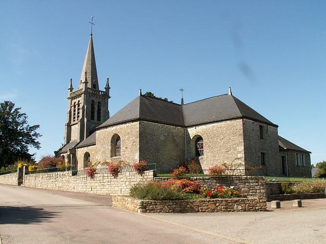 """Église de Bohal - Tableau """"La résurrection des morts"""""""