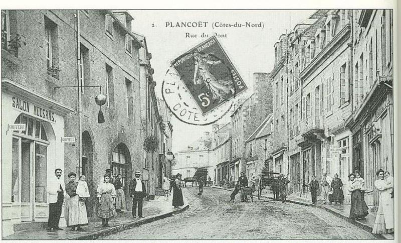 Les commerçants de la Rue Du Pont