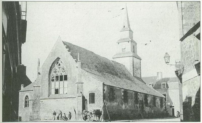 L'ancienne église de Plancoët