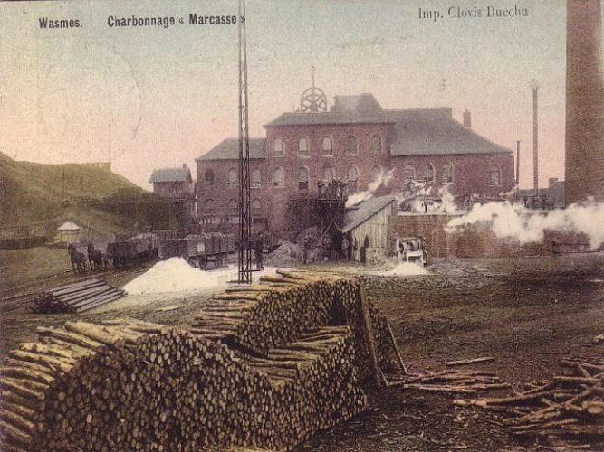 Oude steenkoolmijn van Marcasse