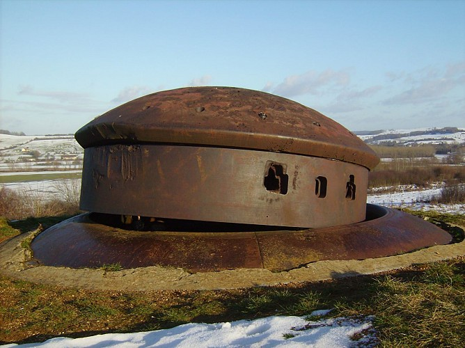 The Maginot Line fort