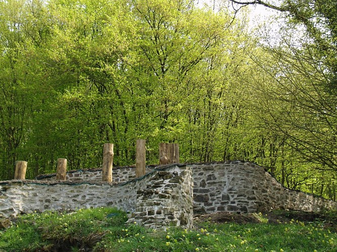 Vireux : Romeinse burcht
