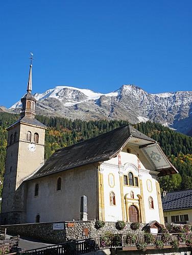 Ch teau glise et abbaye eglise sainte trinit les contamines montjoie - Office tourisme les contamines montjoie ...