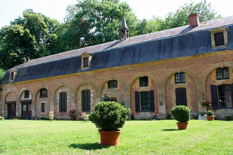 The abbey of Chatel Chéhéry