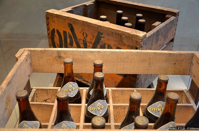 Orval beer, the beer of the Golden Valley