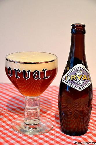 Orval - la bière trappiste d'or et de val