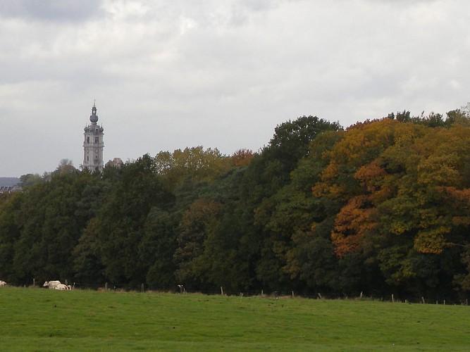 Mont Panisel and Bois-là-haut battlefield