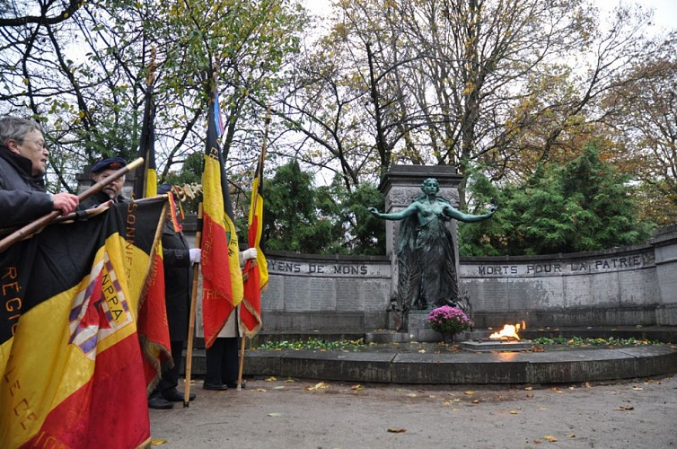 Monument op het Place du Parc