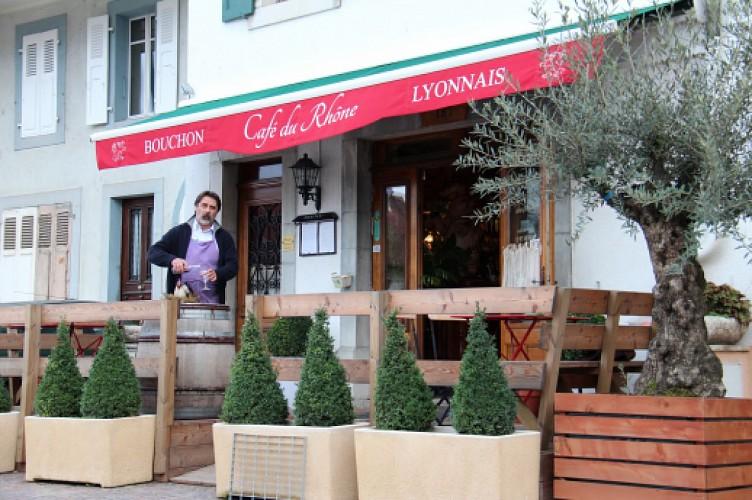 Le café du Rhône