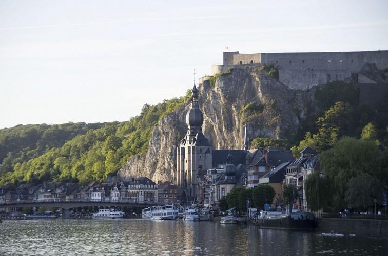 Dinant - La citadelle et le musée d'armes