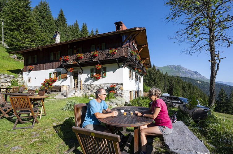 Mountain Refuge Hut: Nant Borrant
