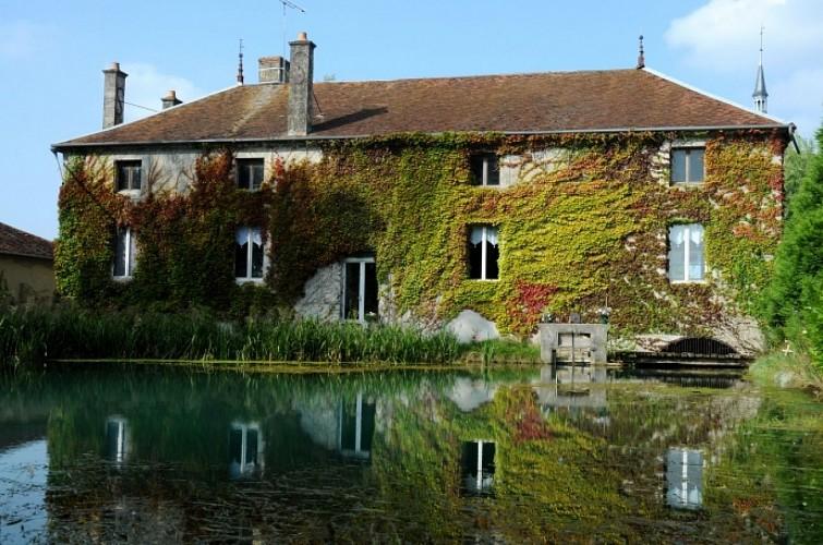 Résurgence de la Dhuys - Moulin et lavoir à proximité