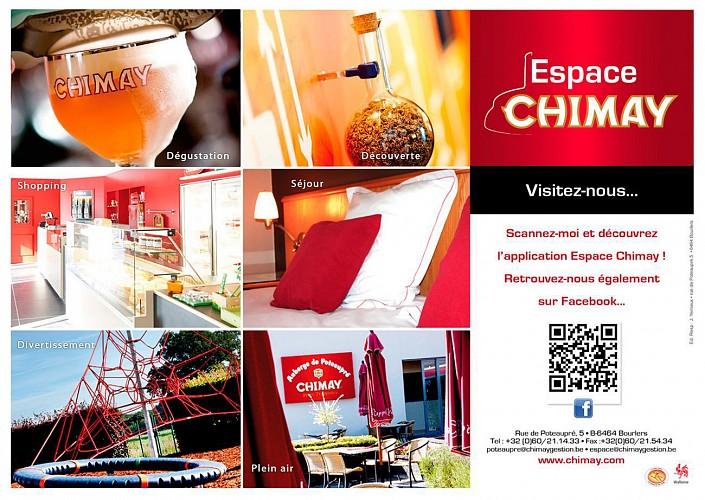 L'Espace Chimay à l'auberge de Poteaupré