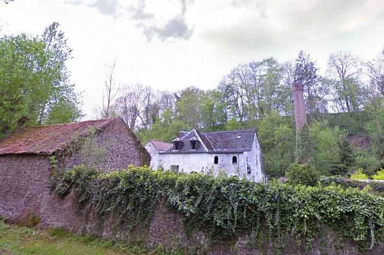 L'ancien moulin de Montignies-sur-Roc