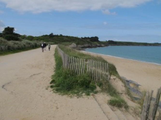 La plage du Guesclin