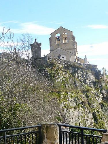 The church Sainte-Claire in Saint-Hérent