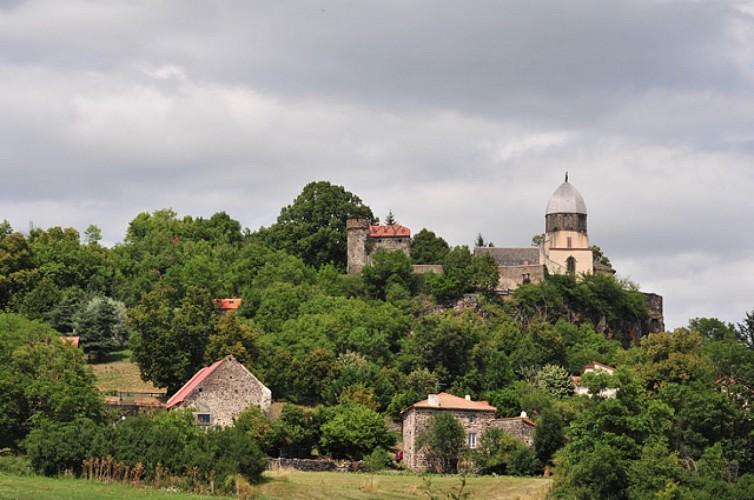 Notre-Dame de Ronzières in Tourzel-Ronzières
