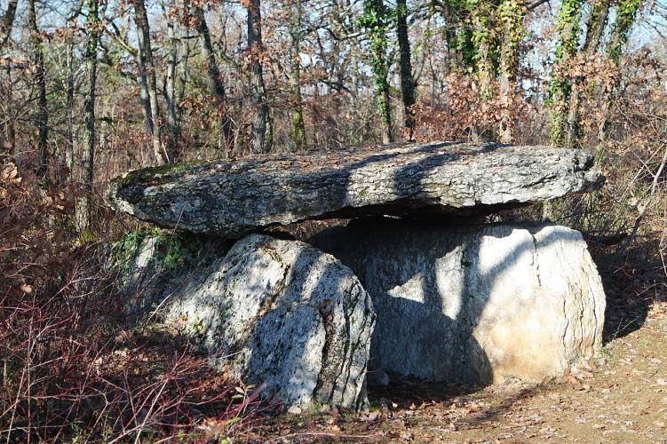 Dolmen (sépulture collective de 2500 à 1700 avant J-C)