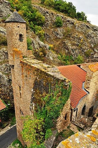 """Saint-Floret, """"Most Beautiful Villages of France"""""""