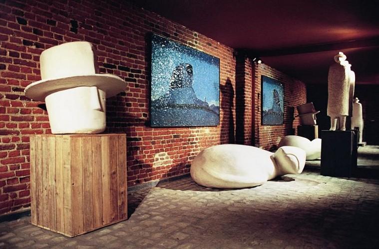 Salle sculpture © Fondation Folon (photo)