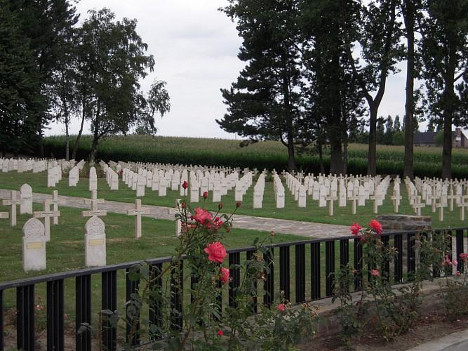 Cimetière militaire - Nécropole française de Chastre