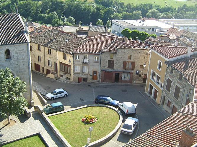 N°3 : Place Saint Pierre - Chevet de l'église