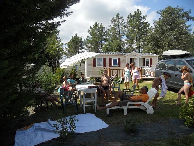 L'Étang de Bazange, l'un des plus charmants campings de Dordogne !