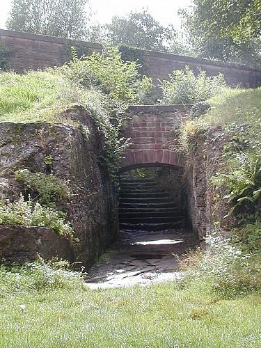 Vestiges des fortifications Vauban