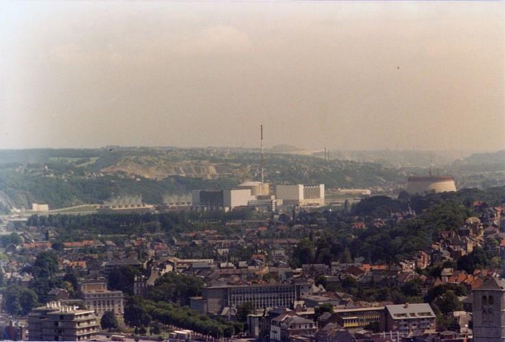 La centrale nucléaire de Tihange