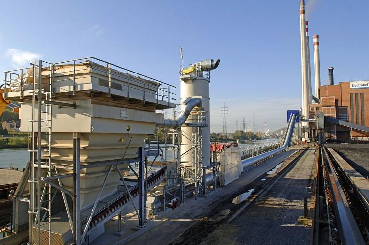 La centrale biomasse des Awirs