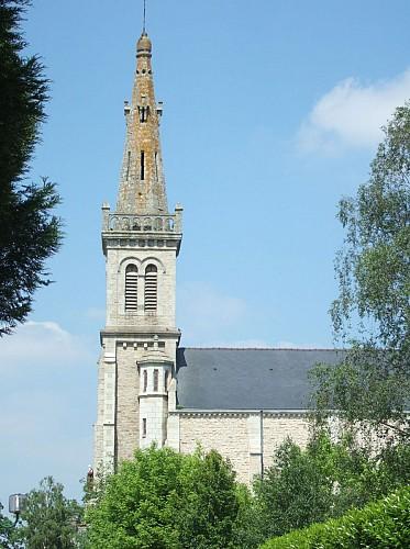 Pluherlin, Eglise St Gentien
