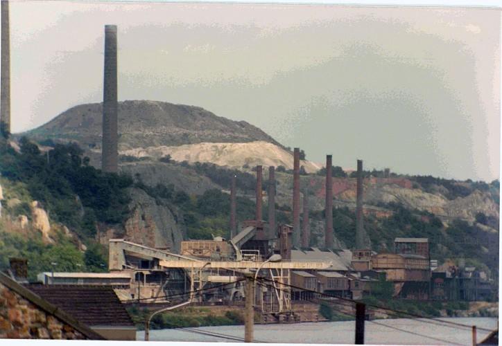 Flône - site de la Vieille-Montagne S.A.