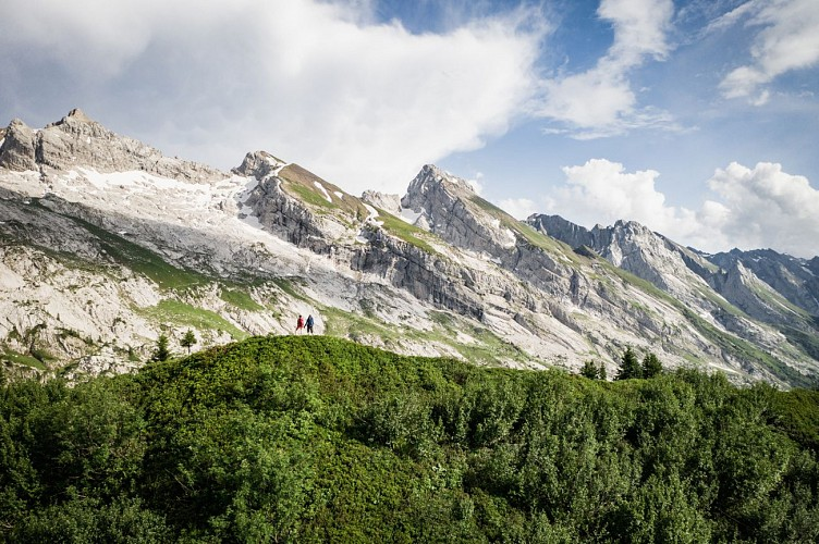 The Aravis mountains