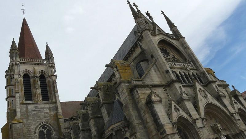 Eglise Notre-Dame : architecture extérieure