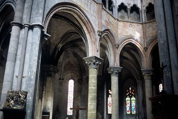 Eglise Notre-Dame : architecture intérieure