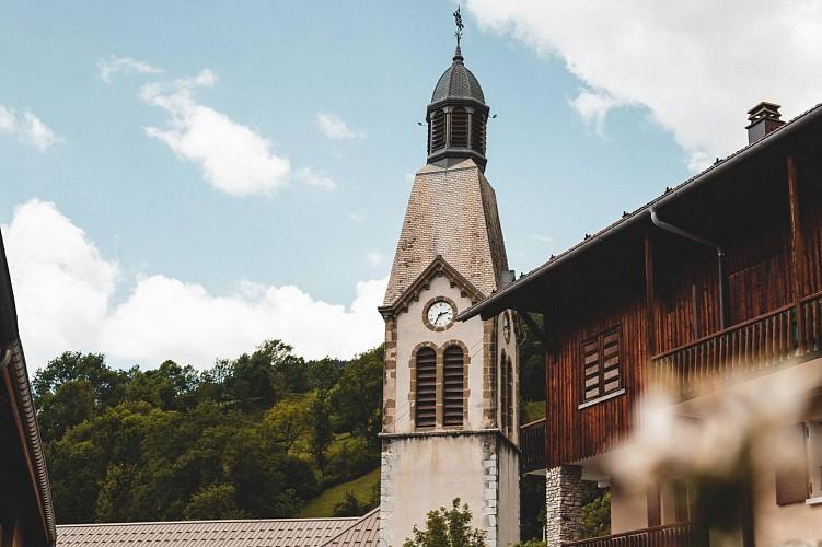 St Pierre Church of Manigod