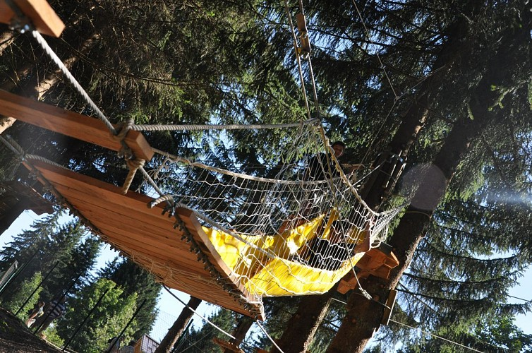 Mont Favy tree-top adventure park