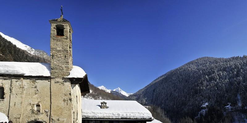 Hameaux du Miroir et de la Masure et la chapelle Ste Brigide