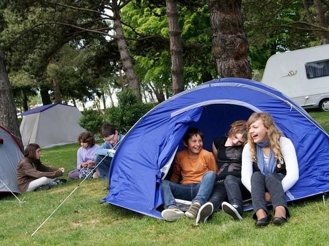 Camping des bords de l'Aure